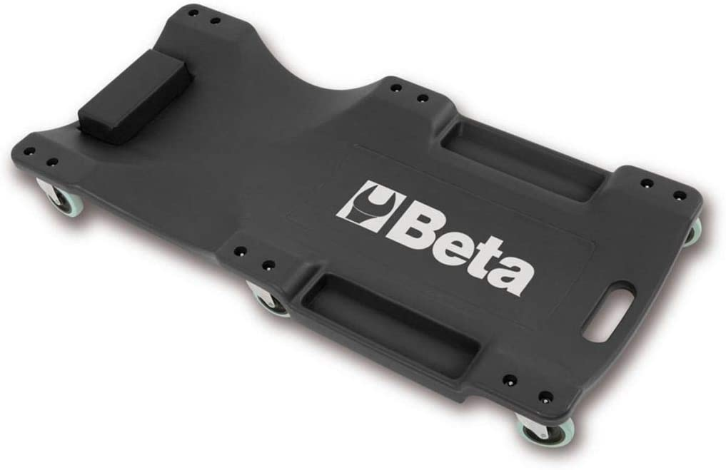 Beta-Werkzeuge 3003/Creeper aus schlagfestem Kunststoff schwarz//orange