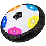 air ball toy - Hover Ball with LED Lights, Blink Red, Yellow and Blue - Children Toys for Boys Air Power Training Ball for playing football game with Parents Indoor or Outdoor