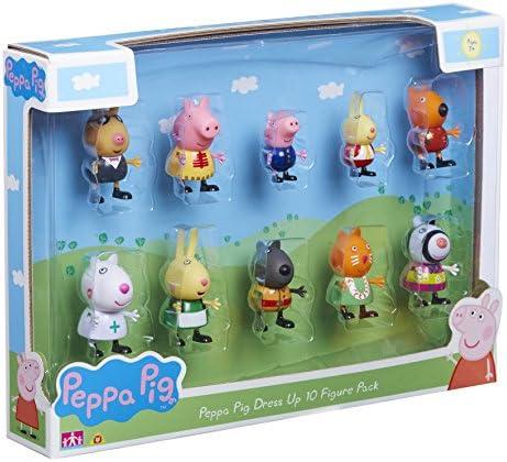 Peppa Pig 06529 Figura con Pegatinas (Pack de 10): Amazon.es: Juguetes y juegos