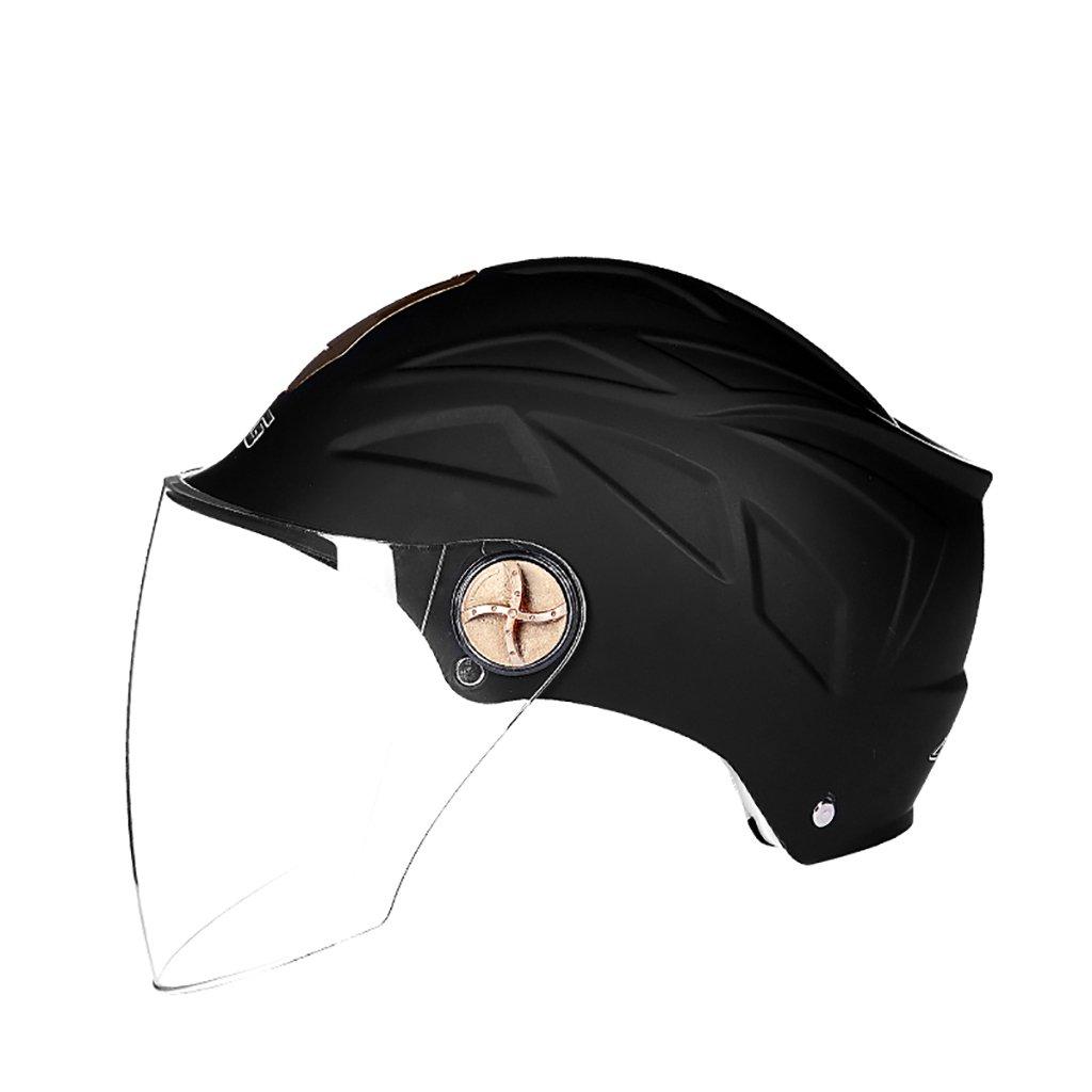 超人気の ヘルメット ヘルメット/UV保護オートバイのヘルメット夏の日の保護ヘルメット色のオプションのヘルメットのパーソナリティファッションの様々な (色 (色 : グレー) B07D8T376R B07D8T376R black Matt black Matt black, ナデシコの森:498b1840 --- a0267596.xsph.ru