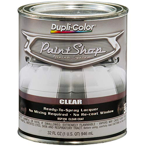 Dupli-Color (BSP300-2 PK 'Paint Shop' Gloss Clear Finish System Top Coat - 1 Quart, (Case of 2) by Dupli-Color