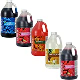 Frusheez Slush & Slushy Mix 1/2 Gallon Choose Your Own Flavors (Five Pack)