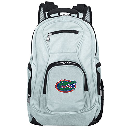 NCAA Florida Gators Voyager Laptop Backpack, 19-inches, Grey ()