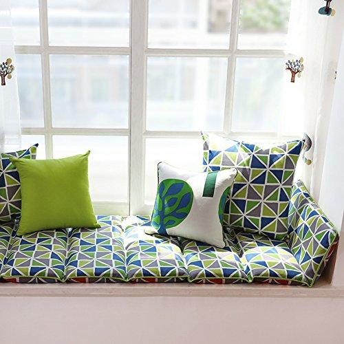 Window sill cushion,Sill pad,Living room bedroom balcony mat sponge padded cotton bedding-A 70x120cm(28x47inch) by NVLKJHSFGIUJFKL