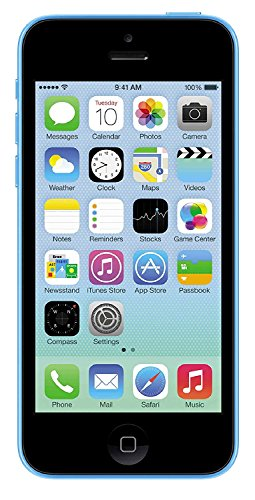 Apple iPhone 5C, GSM Unlocked, 32GB - Blue (Refurbished)