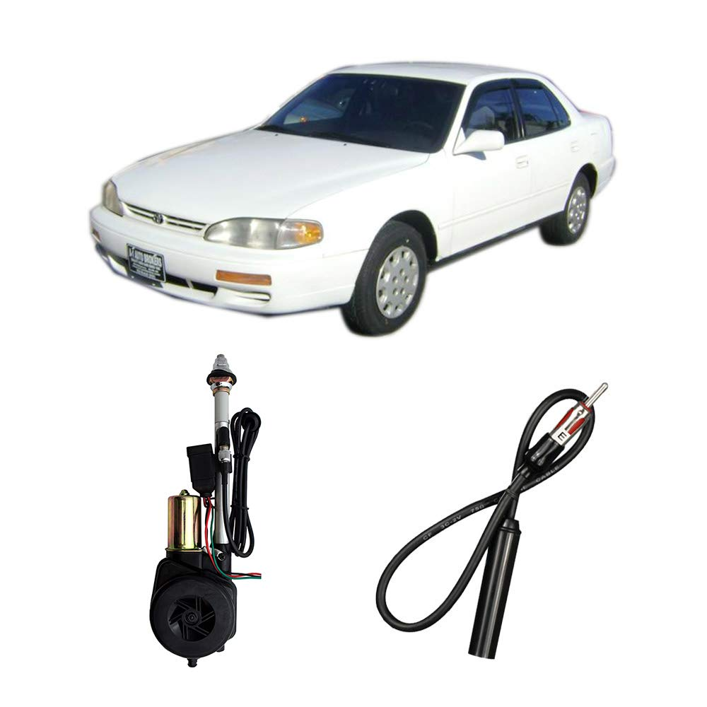 Compatible with Toyota Camry LE Sedan 1992-1996 Factory Replacement Radio Stereo Powered Antenna by Harmony Audio