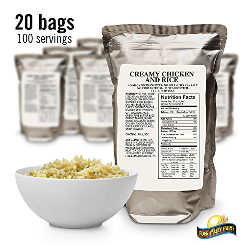 Eden Valley Farms 5028-EVF Chicken & Rice Pilaf Dried Food