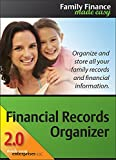 Financial Records Organizer 2.0 Deluxe for Mac [Download]