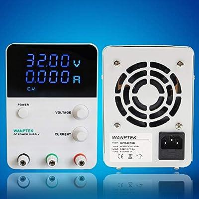 Xucus GPS305D Mini Laboratory Power Supply 30V 5A Single Phase Adjustable Digital Voltage Regulator 0.01V 0.001A DC Power Supply