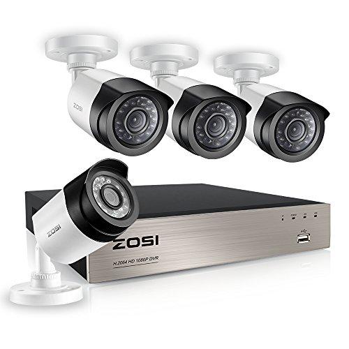 836785d3f25b1 ZOSI 800TVL CCTV Camera 24 IR LEDs Indoor outdoor Day Night Vision ...