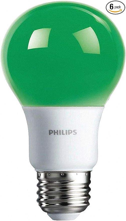 Amazon.com: Philips 538207 A19 - Bombillas LED para fiestas ...