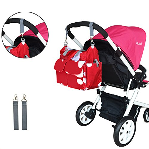 Kangming bebé pañal bolsa de pañales de saco de bolso bandolera con cambiador con aislamiento botella Holder