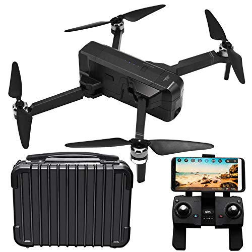 Blomiky GPS SJRC F11 Foldable Brushless Motor RC Quadcopter Drone with 1080P 5GHz WiFi FPV Camera and Carry Case F11…