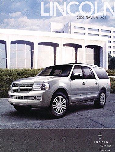 Lincoln Navigator Dealers (2007 Lincoln Navigator L Spec 1-page Original Car Dealer Sales Brochure Card)