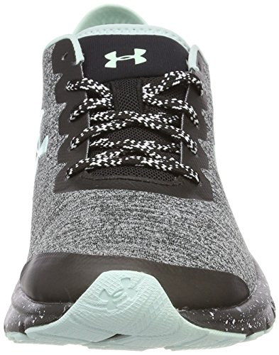 Noir Compétition Femme Escape Chaussures de UA Charged Running Black Gris Under W Armour CFq1q