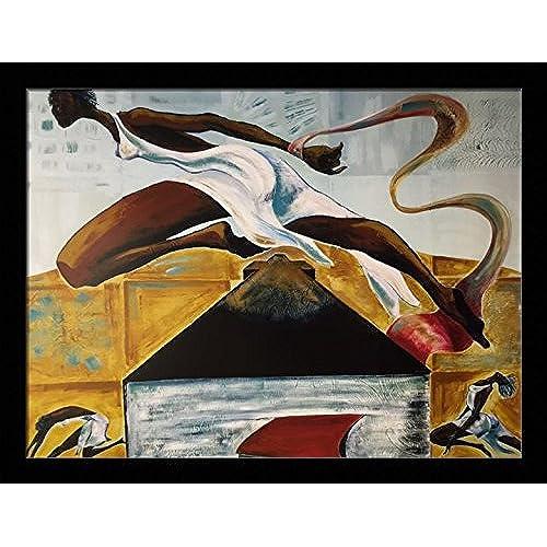 framed black art amazon com