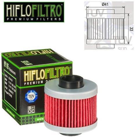 FILTRO OLIO MOTORE HIFLO HF185 PER APRILIA LEONARDO 125 ST 2000