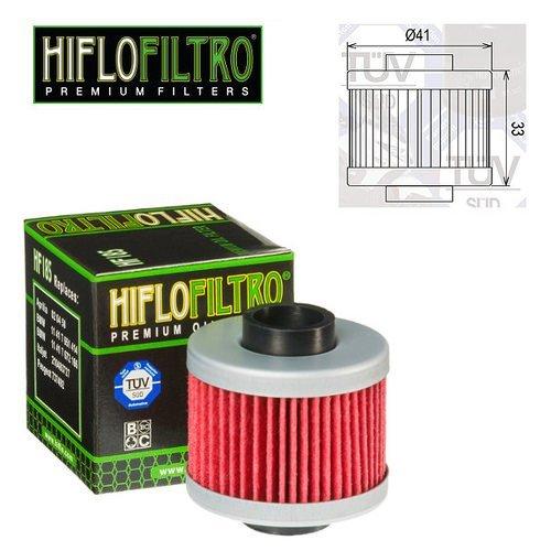 FILTRE /À HUILE MOTEUR HIFLO HF185 POUR PEUGEOT 125 SATELIS-RS 2006