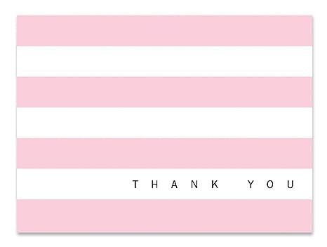 Amazon.com: Luxye - Tarjeta de agradecimiento con 36 notas ...