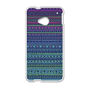Anchor Pattern HTC One M7 Cell Phone Case White SH6071260
