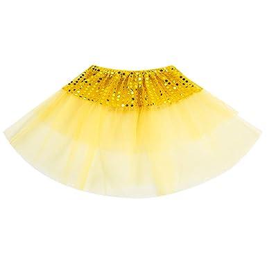QinMM 2-7Y niñas Ballet Tutu Princesa Vestir Baile Traje Fiesta ...