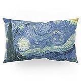 Society6 Starry Night Pillow Sham King (20'' x 36'') Set of 2