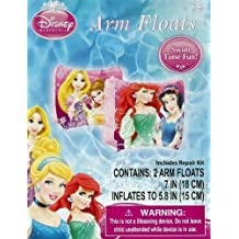 Disney Princess Ariel, Belle, Rapunzel, & Snow White Set of 2 Swimming Pool Arm Floats by What Kids Want! [Toy]