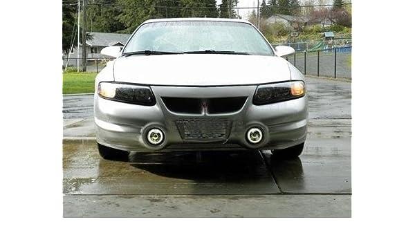 amazon com: pontiac bonneville sle ssei 2000-2005 halo fog lamps driving  lights foglamps foglights kit angel eye: automotive