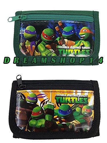 Teenage Mutant Ninja Turtles (2Pc) Tri Fold Wallet Set
