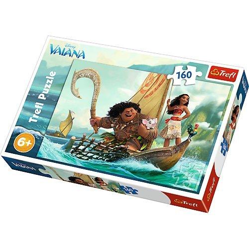 Puzzle 160 Vaiana na fali (Polaco) Juguete Trefl B06XGL584H 15334