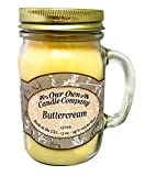 Buttercream Scented 13 Ounce Mason Jar Candle By Our Own Candle Company