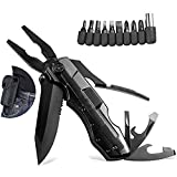 Multitools, Professional Multi-Tool, Outdoor Tool, All-in-one Multitool, Emergency Survival Gear Kit, Stainless Steel Folding Knife for Outdoor Survival, Travel, Climbing, Camping, Fishing