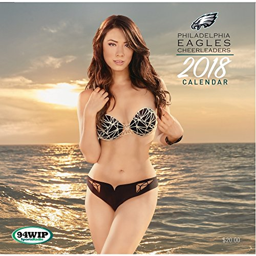 Philadelphia Eagles Cheerleaders Wall Calendar 2018