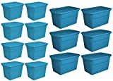 Sterilite 18 Gallon Storage Tote (8 Pack) + 30 Gallon Storage Tote (6 Pack)