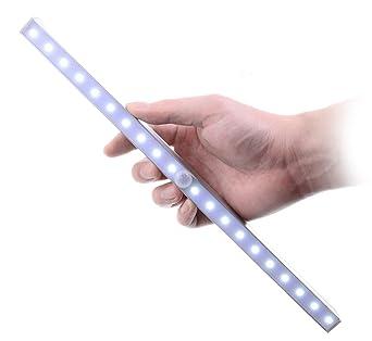 Under Cabinet LED Night Light   Kitclan Portable 20 LED Wireless Motion  Sensing Closet Light Part 50