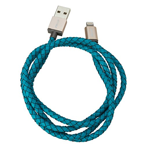Pilot Electronics Lightning Cable for iPhone - Turquoise ()