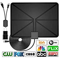 HD Digital TV Antenna, Best 60 Miles Range HDTV Indoor...
