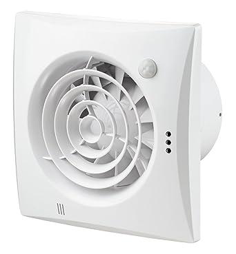 Quiet TP – Ventilador para empotrar Sensor de movimiento, temporizador y rodamiento de bola (