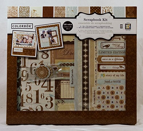 Colorbok Shabby Chic 12 inch x 12 inch Scrapbook Kit (Kit Scrapbook Colorbok)