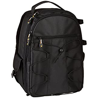 AmazonBasics Backpack for SLR/DSLR Cameras and Accessories – Black 51l0QOYLG6L