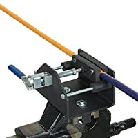 The GolfWorks Pro Lever Action Golf Club Shaft Holder Vise Gripping Tool