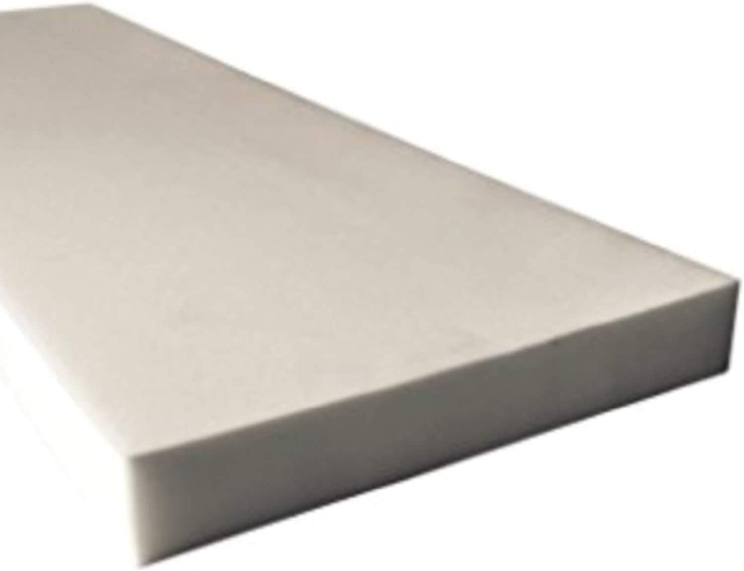 Seat Replacement Foam Sheet//Padding 0.5 x 24 x 82 inches. BayTrim Upholstery High Density Cushion