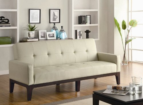 coaster-home-furnishings-contemporary-sofa-bed-cream