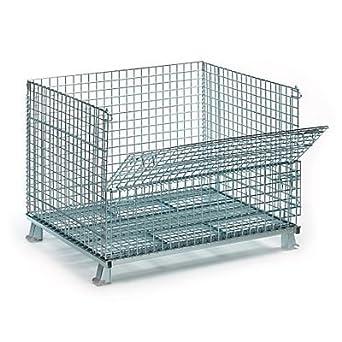 30pcs yougu almacenamiento jaula alambre plegable malla de alambre ...