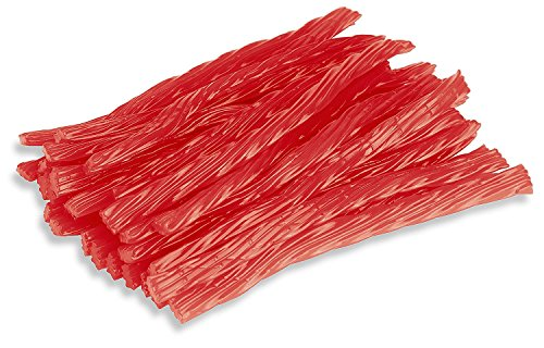 Happy Bites Watermelon Licorice Twists - Certified Kosher - 1 Pound Bag (16 oz) (Twizzlers Watermelon)