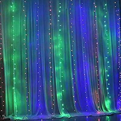 Waterproof LED Outdoor Home Christmas Xmas Decorative String Fairy Curtain Garlands Strip Party Lights for Wedding