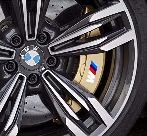(Sunyat 4X M tec Break Caliper Sticker Decal Logo for BMW F10 F20 F30 E60 E70 E71 E90)