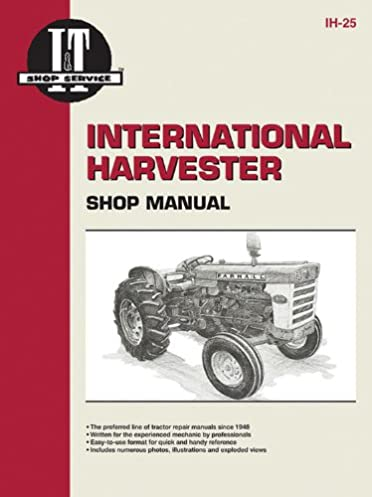 international harvester shop manual series 460 560 606 660 2606 i rh amazon com Farmtrac Shop Manuals Service Manual KEF 204C