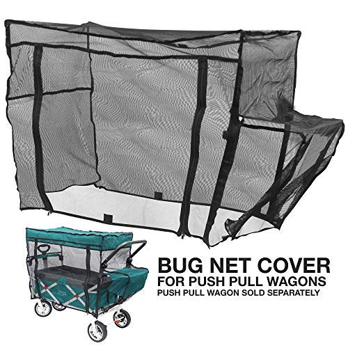 Creative Outdoor Push Pull Folding Wagon Bug NET