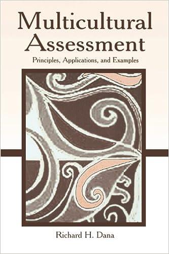 Multicultural assessment principles applications and examples multicultural assessment principles applications and examples 1st edition fandeluxe Images